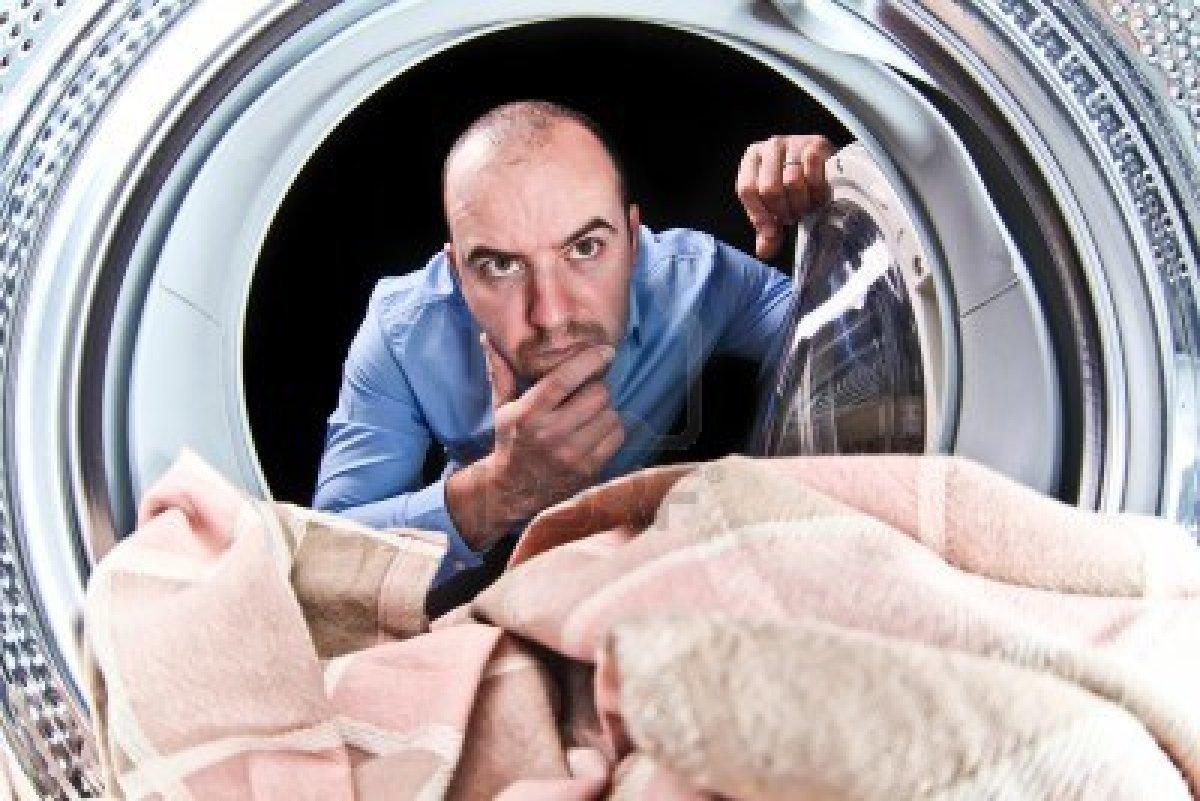 De Wasmachine Lekt